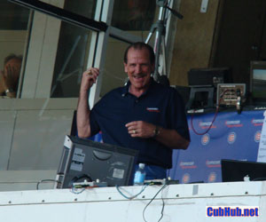 Bob Brenly in the Cubs booth